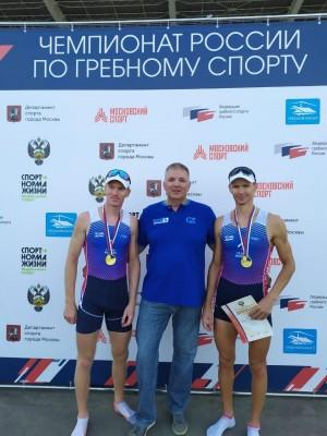 В Москве на гребном канале в Крылатском проходит чемпионат России по гребному спорту.