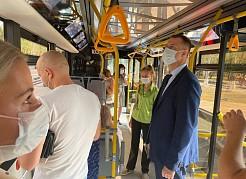 Ежедневномежведомственные комиссии проводят рейды, охватывающие все виды общественного транспорта.