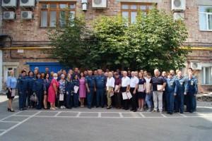 В честь знаменательной даты в Главном управлении МЧС России по Самарской области состоялось торжественное собрание.