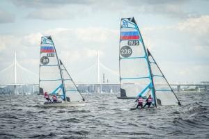 В Санкт-Петербурге сегодня завершился чемпионат России в олимпийских классах.