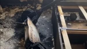 Серьёзно пострадал жилец квартиры, который получил 20% ожогов поверхности тела.