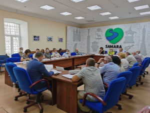 В Самаре состоялось расширенное заседание комиссии по местному самоуправлению, ЖКХ Общественной палаты Самары.