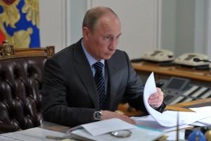 Путин ознакомился с ходом строительства второй очереди космодрома Восточный