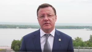Дмитрий Азаров о ситуации в Борском районе: ночью удалось отстоять от огня населенные пункты
