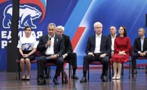 Путин встретился с лидерами федерального списка Единой России
