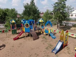 В Борском районе в этом году обновляются шесть дворов