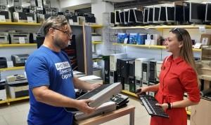 сельская библиотека и Дом культуры Клявлинского района получили компьютеры и оргтехнику
