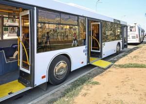 Самарские городские маршруты пополняются автобусами нового поколения