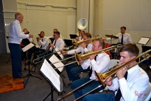 Военные музыканты Росгвардии приняли участие в юбилейном фестивале «Серебряные трубы Поволжья»