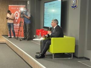 Участники смогли задать министру ДмитриюБогданову интересующие их вопросы, рассказать о планах, поделиться проблемными ситуациями.