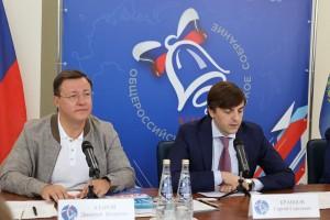Министр просвещения,ДмитриАзарови АлександрХинштейнпровели Общероссийское родительское собрание в новой школе на Пятой просеке.