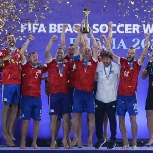 Сборная России по пляжному футболу выиграла чемпионат мира 2021 года