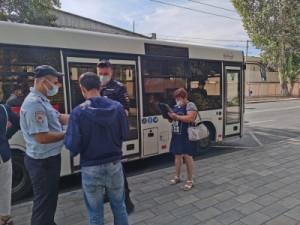 Количество рейдов, охватывающих все виды общественного транспорта, увеличилосьдо 80 в неделю.