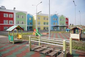 Новый детсад в Волжском районе откроют на две недели раньше.