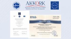 Высокой профессионально-общественной оценки удостоены направления в области химии и химической технологии.