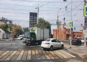Три машины столкнулись в Самаре