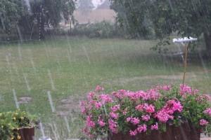 В Самарской области пролился рекордный дождь