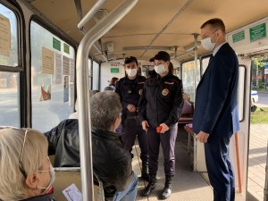В Самаре в этом году в суды направлено 343 административных материала в отношении нарушителей масочного режима в общественном транспорте.