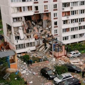 Мужчина и женщина погибли в результате взрыва газа в девятиэтажном доме в Ногинске