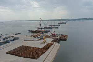 Строительная готовность Волжского моста и обхода Тольятти приблизилась к 30%