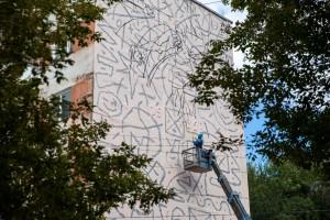 Уже шесть локаций задействовали в арт-проекте Samara Ground Art Festival в Самаре.