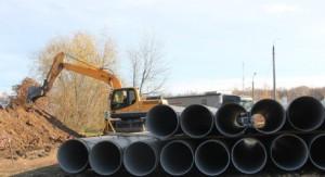 Ведётся строительство водовода в частном секторе Красноглинского района - через посёлки Озерки, Красный пахарь с конечной точкой в Горелом хуторе.