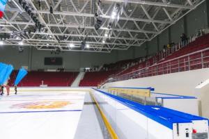 Новый Дворец Спорта в Самаре достроили