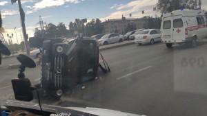 Серьезная авария на Московском шоссе в Самаре спровоцировала огромную пробку 10 сентября