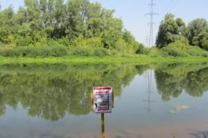 Энергетики размещают информацию об опасности рыбной ловли вблизи энергообъектов и в магазинах для рыболовов и охотников.