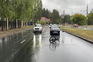 В Тольятти иномарка сбила велосипедиста