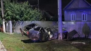 Смертельное ДТП в Самарской области: автомобиль врезался в столб