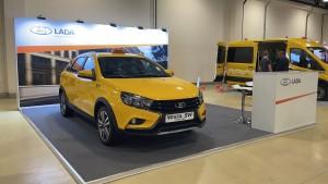 LADA Vesta на IX Международном Евразийском форуме «Такси»