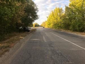В Сызрани водитель врезался в дерево