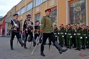 В Самаре росгвардейцы приняли участие в праздновании Дня святого Александра Невского