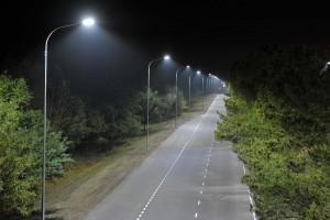 В рамках капремонта дороги «Осинки - Приволжье» - Хворостянка, строители установили 91 опору наружного освещения, выполнили монтаж 153-х светильников.