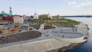 На Монастырской набережной появятся шесть событийных площадок.