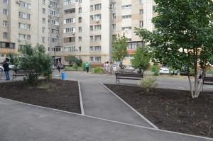 В Новокуйбышевске благоустроили дворы в рамках нацпроекта
