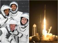 SpaceX отправила первых туристов в космос