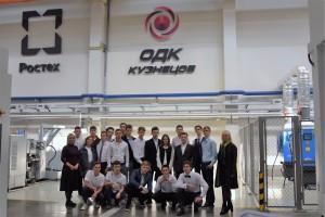 20 студентов спецпроекта «Крылья Ростеха» начали знакомиться с производством «ОДК-Кузнецов»