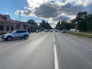 На парковке у магазина в Самарской области водитель сбил женщину