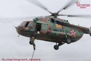 Учебно-методический сбор по десантной подготовке Приволжского округа Росгвардии завершился в Самарской области