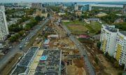 Работы на масштабном строительстве по нацпроекту БКД двухуровневой развязки в Самаре идут с опережением графика