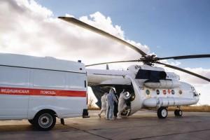 На воздушном транспорте доставили в медучреждения региона для специализированного лечения 9 пациентов.