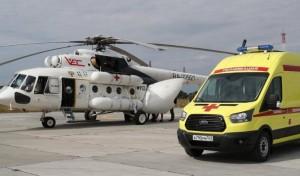 В Самарской области в сентябре 2021 года эвакуировали вертолетом 3 пациентов с COVID-19