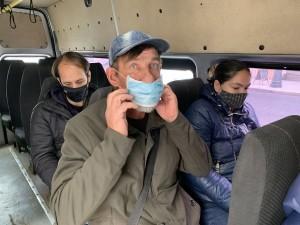 За отсутствие маски во время рейса можно угодить под административный протокол.