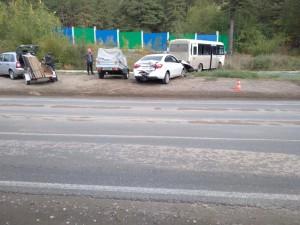 В Тольятти в ДТП с автобусом пострадали четверо