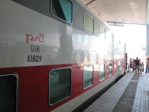 В Самару запустят двухэтажный поезд из Москвы