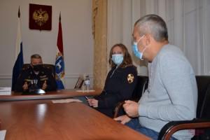 Начальник регуправления Росгвардии провел прием граждан в Приемной Президента РФ