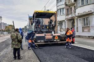 Работы по комплексному обновлению улицы Ленинской в Самаре выполнены на 80%