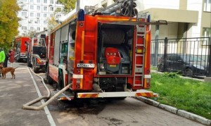 Для ликвидации огня привлекались 56 человек, 21 единицатехники.